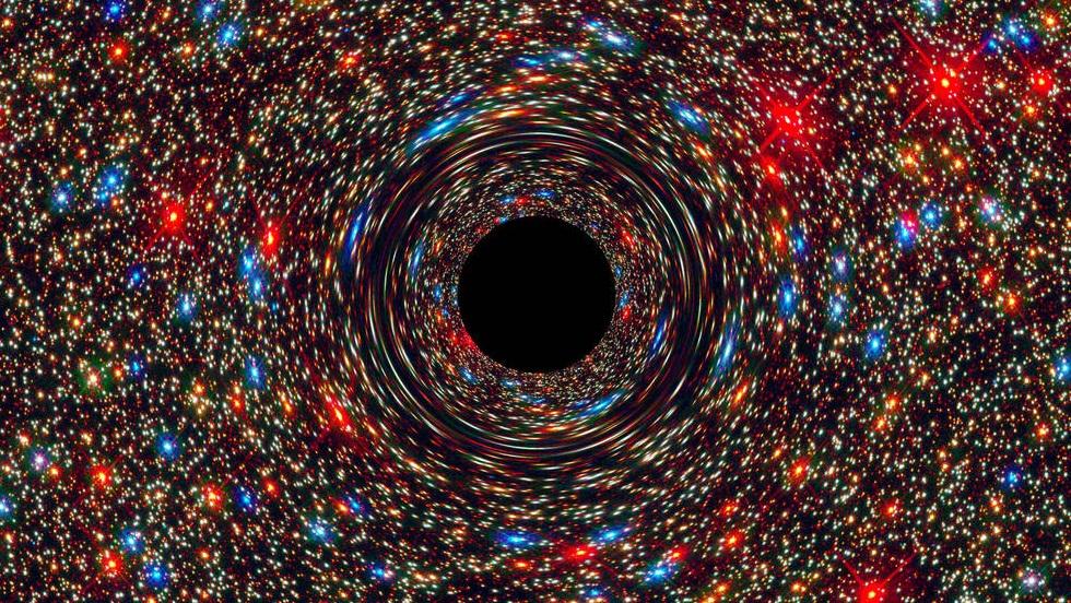 Telescópio da NASA encontra buraco negro gigantesco em um lugar inesperado