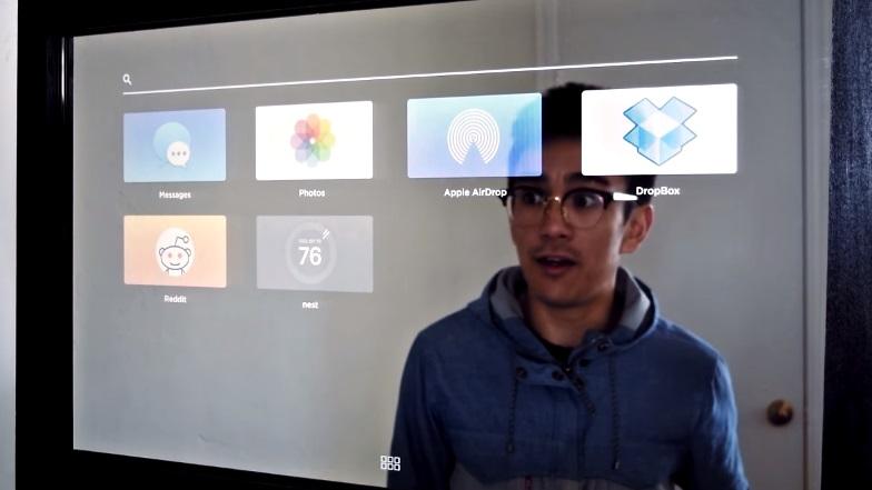 Este espelho incrível com touchscreen chama até um Uber enquanto você se arruma