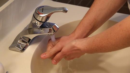 lavar maos