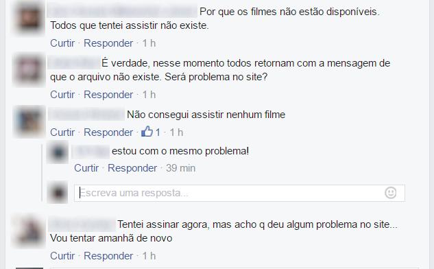oldflix erro facebook