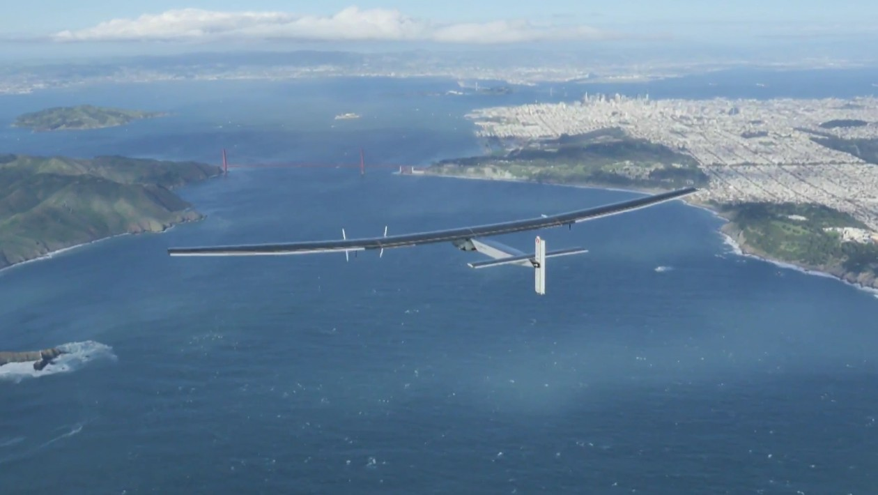 solar impulse california