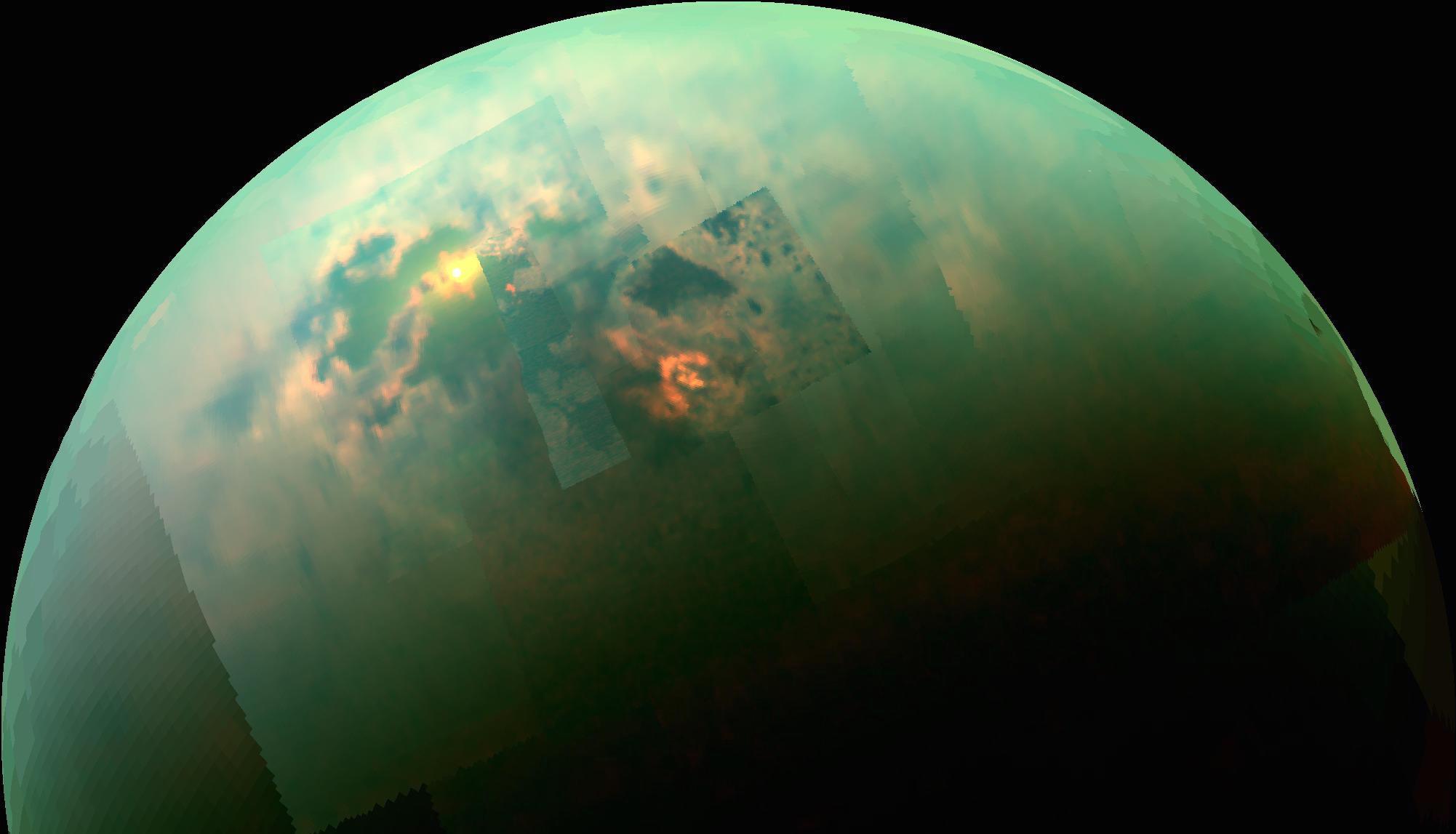 NASA aponta as semelhanças entre Titã, lua de Saturno, e a Terra