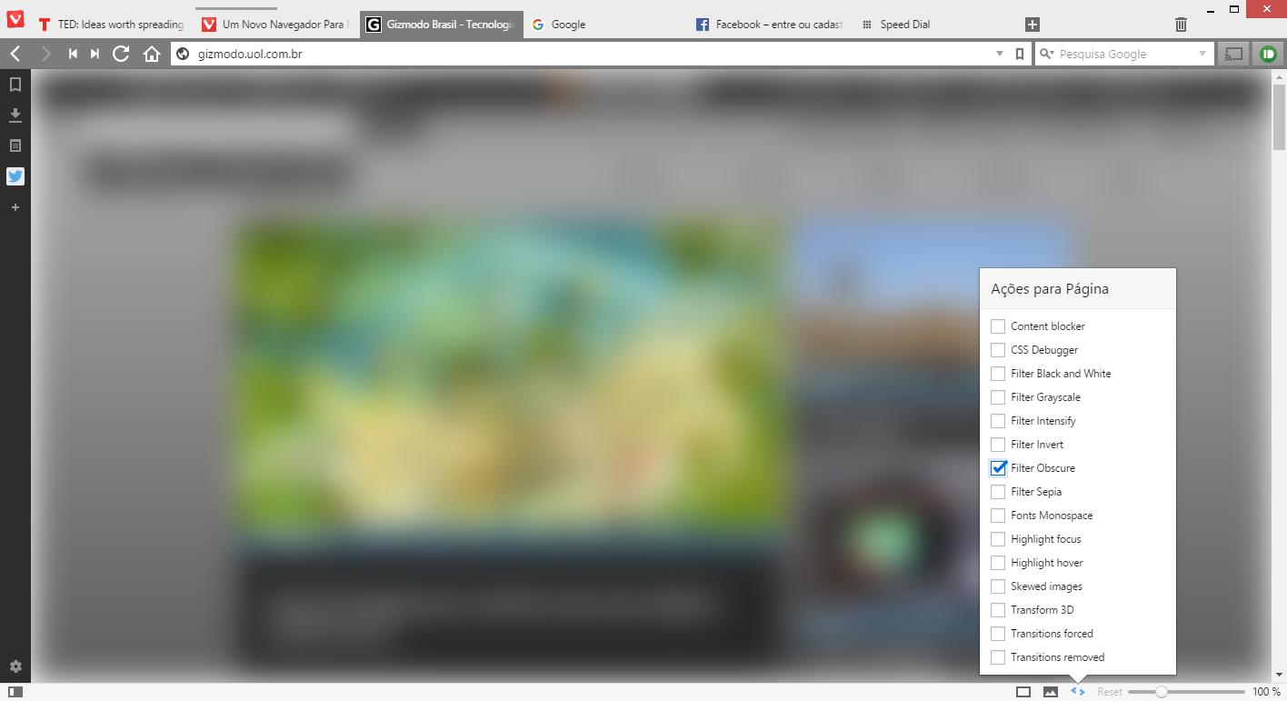 Navegador Vivaldi chega à versão 1 0 com recursos avançados