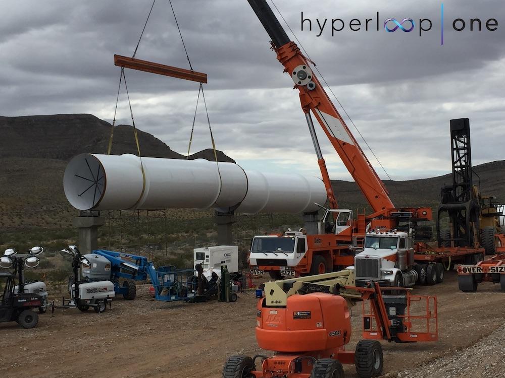 hyperloop one teste