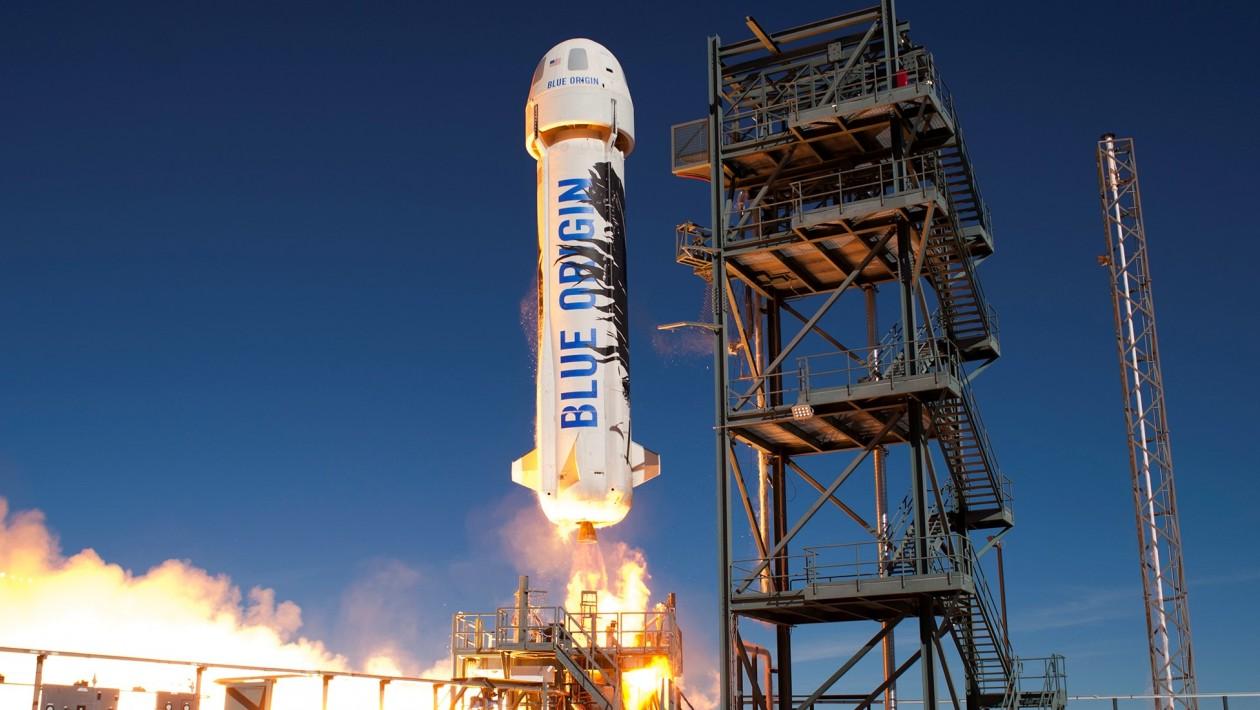 A Blue Origin derrubou uma cápsula de tripulação com um paraquedas a menos