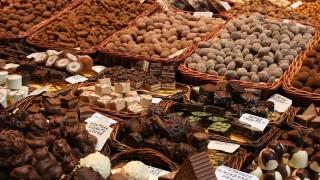 chocolate na mesa
