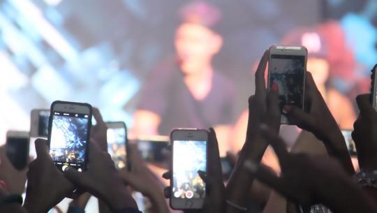 iphone gravando video show