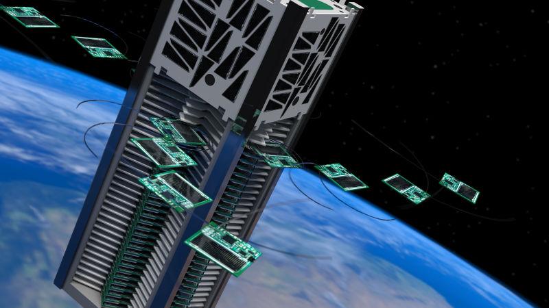 Estas pequenas naves espaciais podem nos levar até a estrela Alpha Centauri