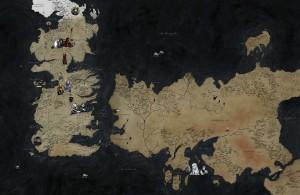 O tabuleiro de 'Game of Thrones'