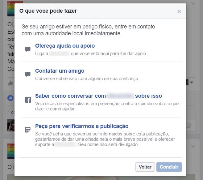 suicidio facebook