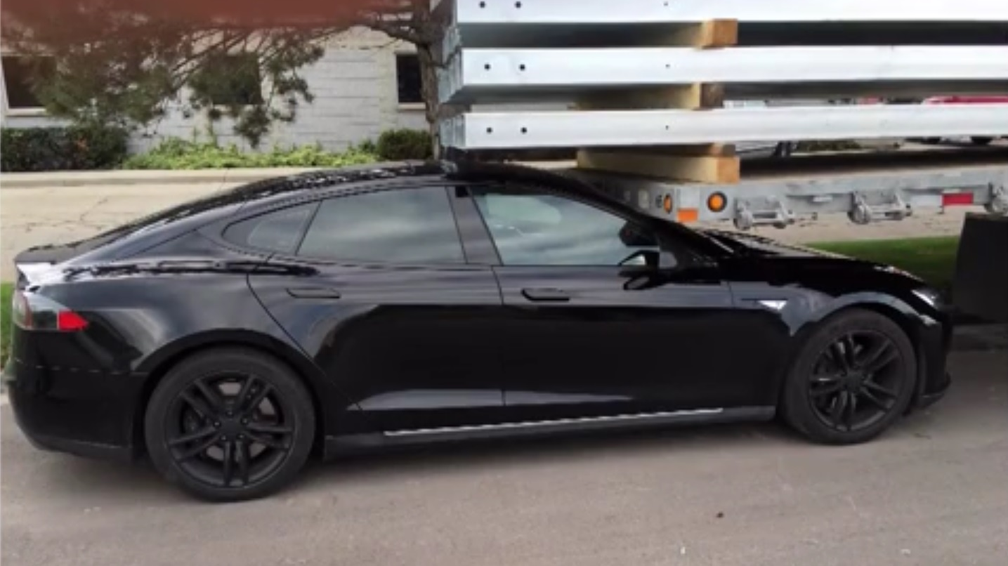 tesla model s acidente