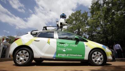 Carro do Google Street View em Atenas, na Grécia