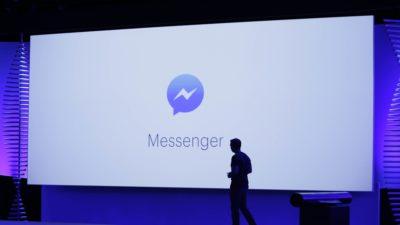 Facebook Messenger. Crédito: Eric Risberg/AP