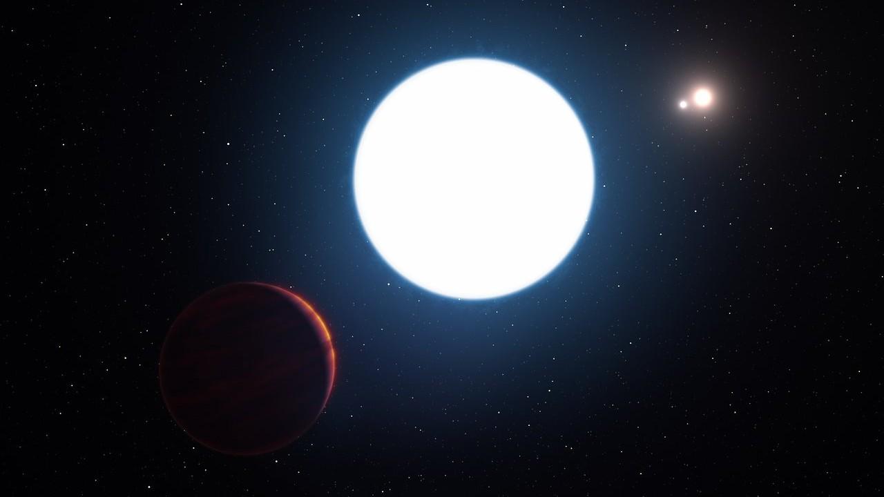 Este planeta com três sóis não deveria nem existir