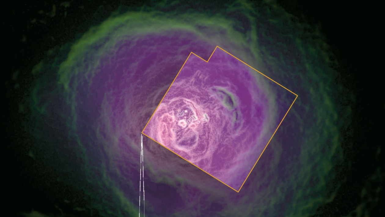 A última coisa que o satélite perdido de buracos negros viu antes de morrer