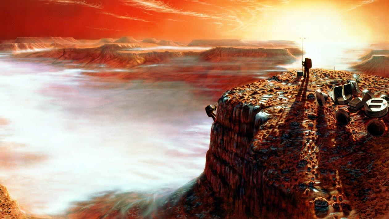 Como poderíamos construir uma cidade em Marte