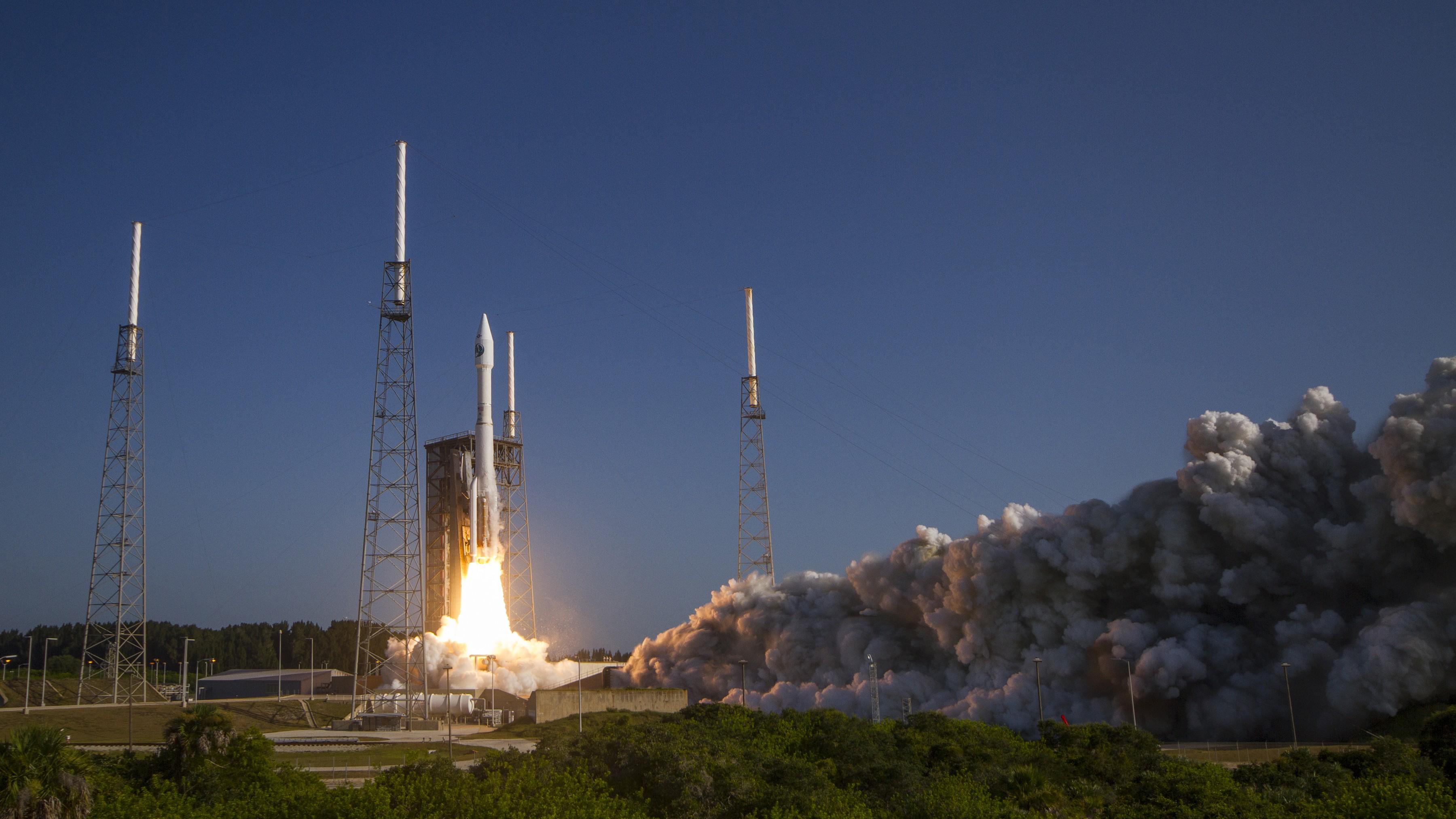 O foguete mais rápido do mundo lançou um satélite secreto -