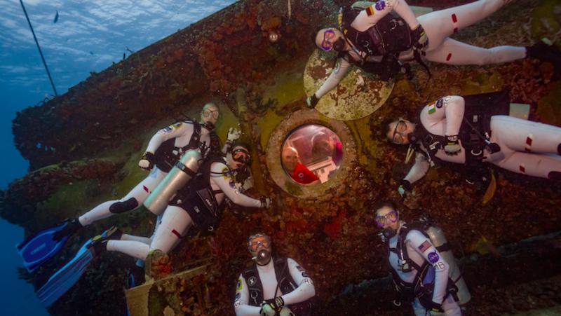 Astronautas estão vivendo sob a água para ter uma ideia de como é viver em Marte -