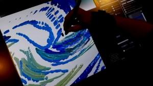 Pinturas a óleo 3D virtuais simulam perfeitamente a interação entre pincel, tinta e tela
