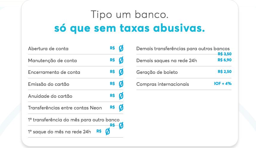 taxas-banco-neon