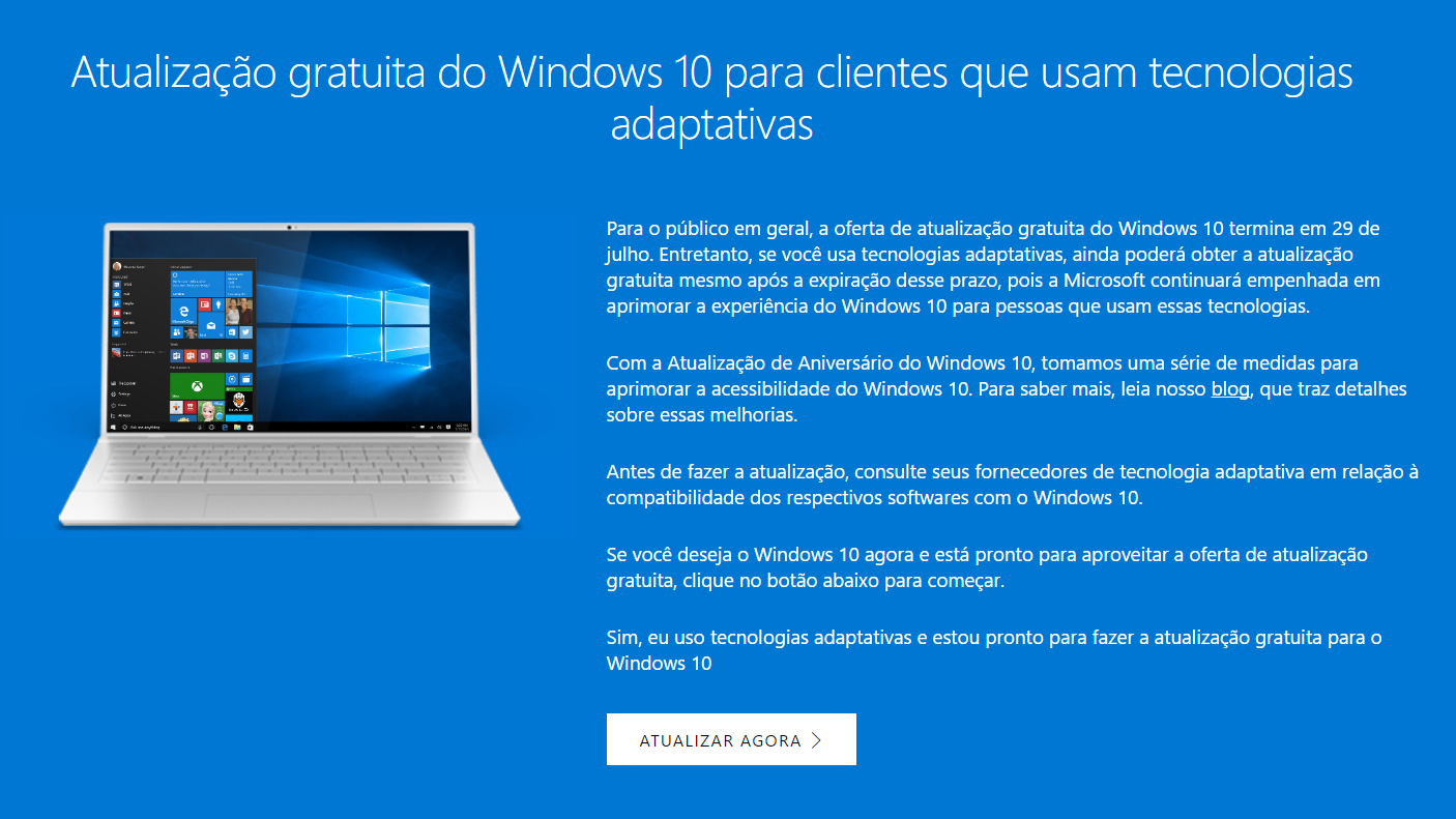 atualizacao windows 10 continua