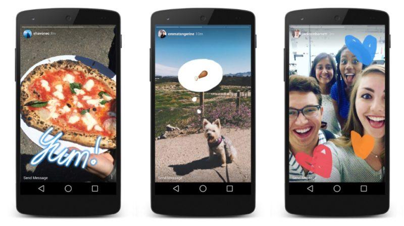 Novo recurso do Instagram não é muito estranho para quem usa o Snapchat