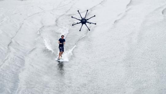 dronesurfing