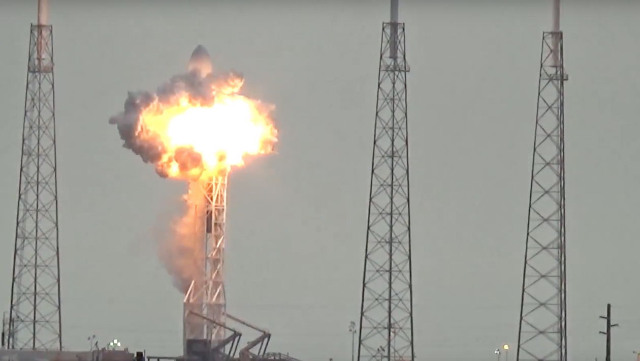 explosão-spacex