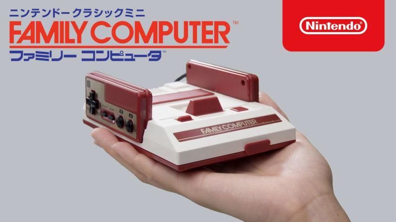 Depois do Mini NES, a Nintendo vai lançar o Mini Famicom no Japão -
