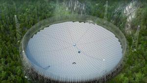 China ativa o maior telescópio do mundo para busca de vida alienígena