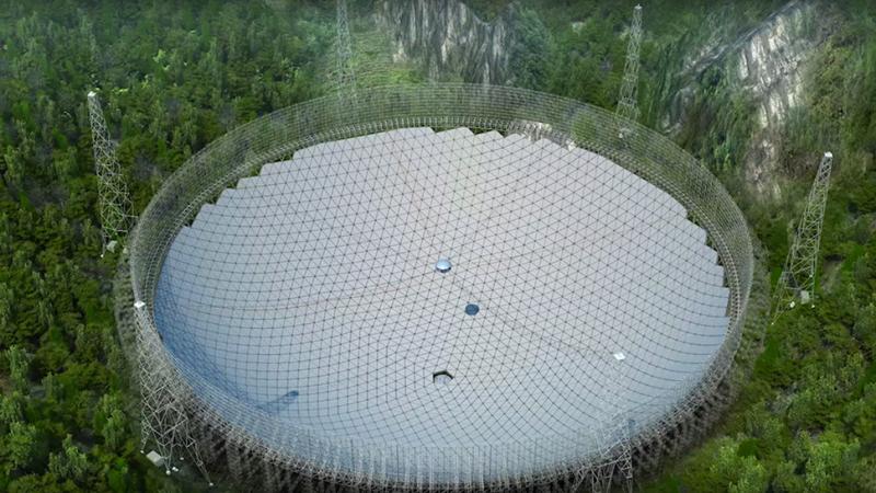 Ciência & Astronomia Fast-telescopio-china