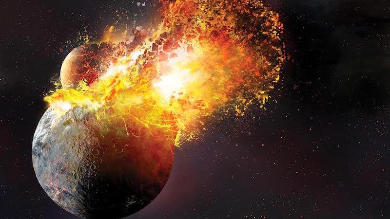 Uma nova teoria diz que a lua surgiu de um forte impacto de um corpo na Terra