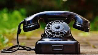 telefone fixo antigo