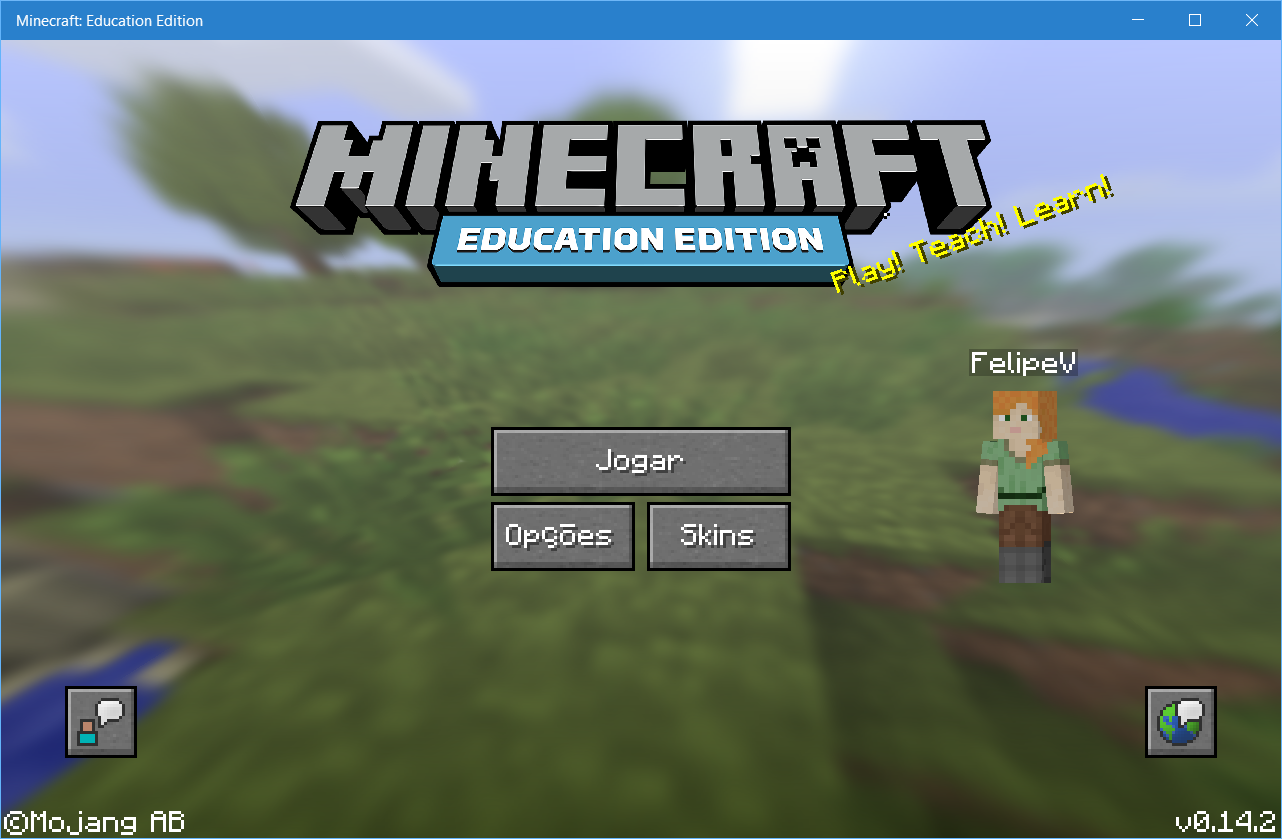 Minecraft Education Edition - inicio
