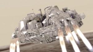 NASA encontra sonda da missão ExoMars que caiu em Marte