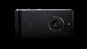 O novo smartphone da Kodak parece uma câmera antiga