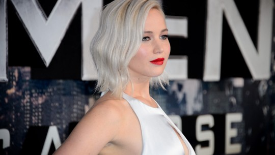 Jennifer Lawrence poses for photographers upon arrival at the screening of the film 'X-Men: Apocalypse' at a central London cinema, London, Monday, May 9, 2016. (Photo by Jonathan Short/Invision/AP)