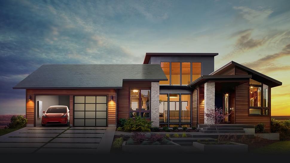 Tesla anuncia painéis solares em formato de telhas que se integram à casa