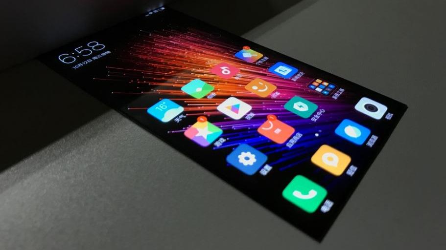 Esta tela dobrável da Xiaomi parece funcionar muito bem