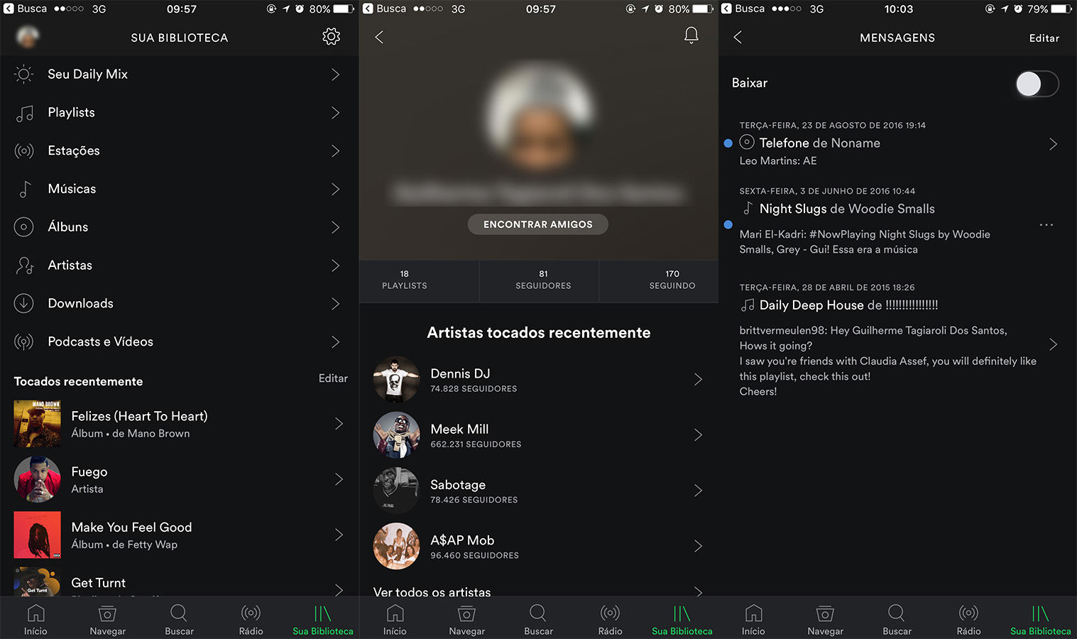 spotify-ios-mensagens
