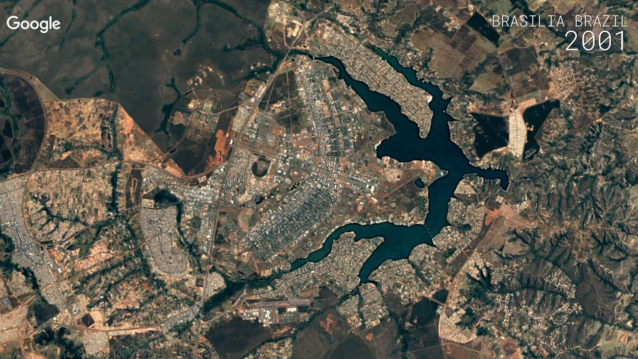 O Google Earth permite que você veja a devastadora ação humana na Terra nos últimos 30 anos