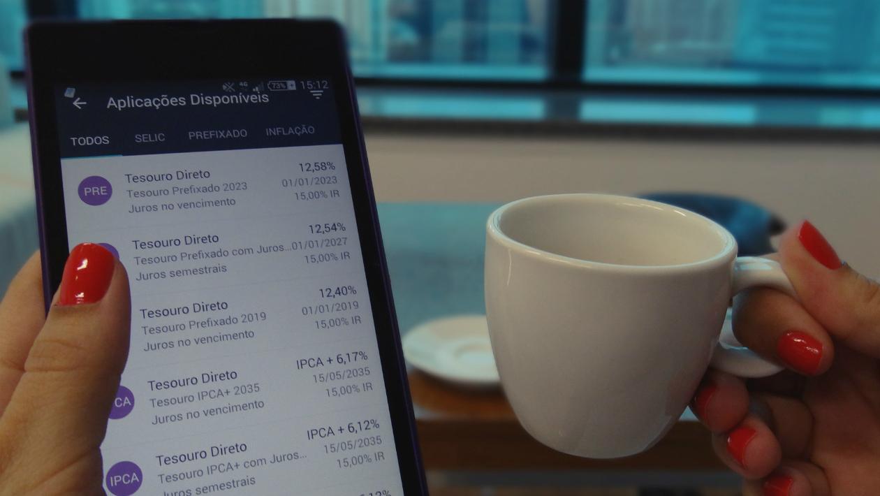 Os aplicativos facilitaram sua vida de todas as formas, até na hora de fazer seu dinheiro render