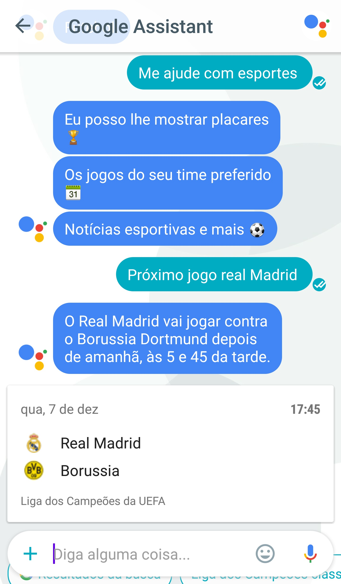 google assistant portugues 13