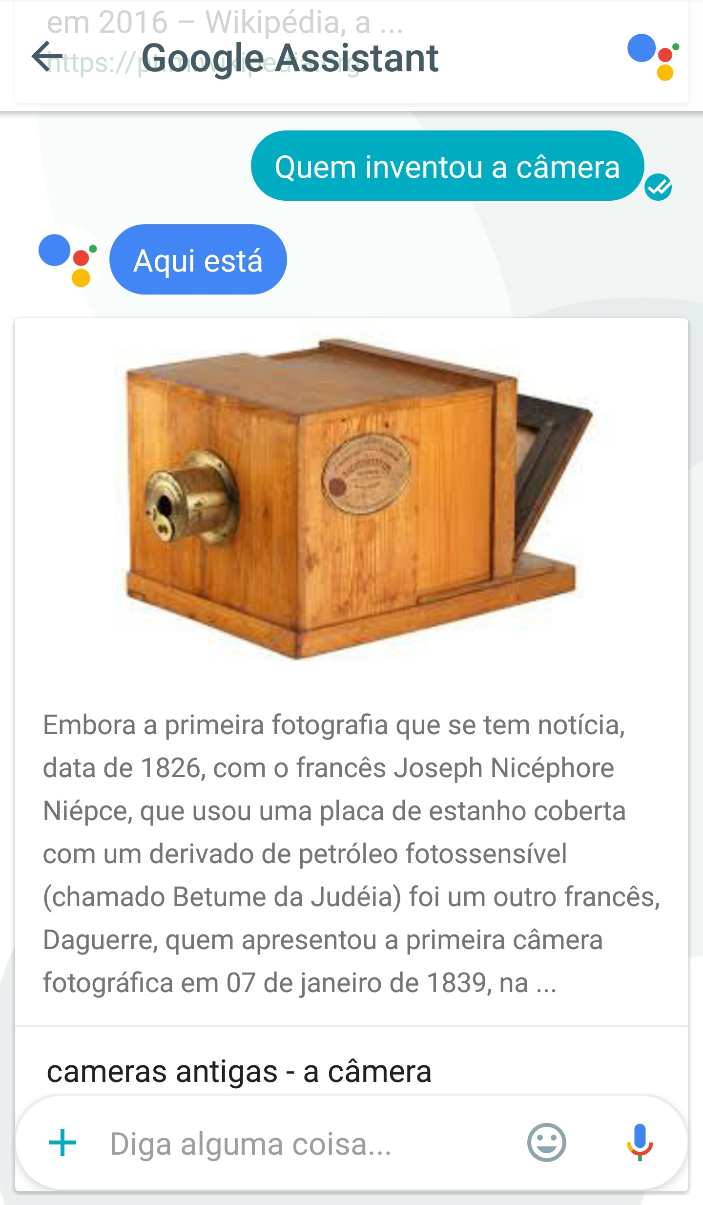 google assistant portugues 2