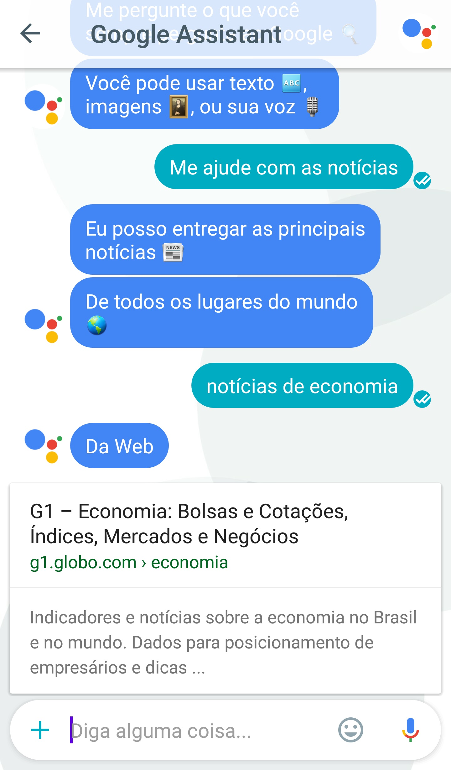 google assistant portugues 3