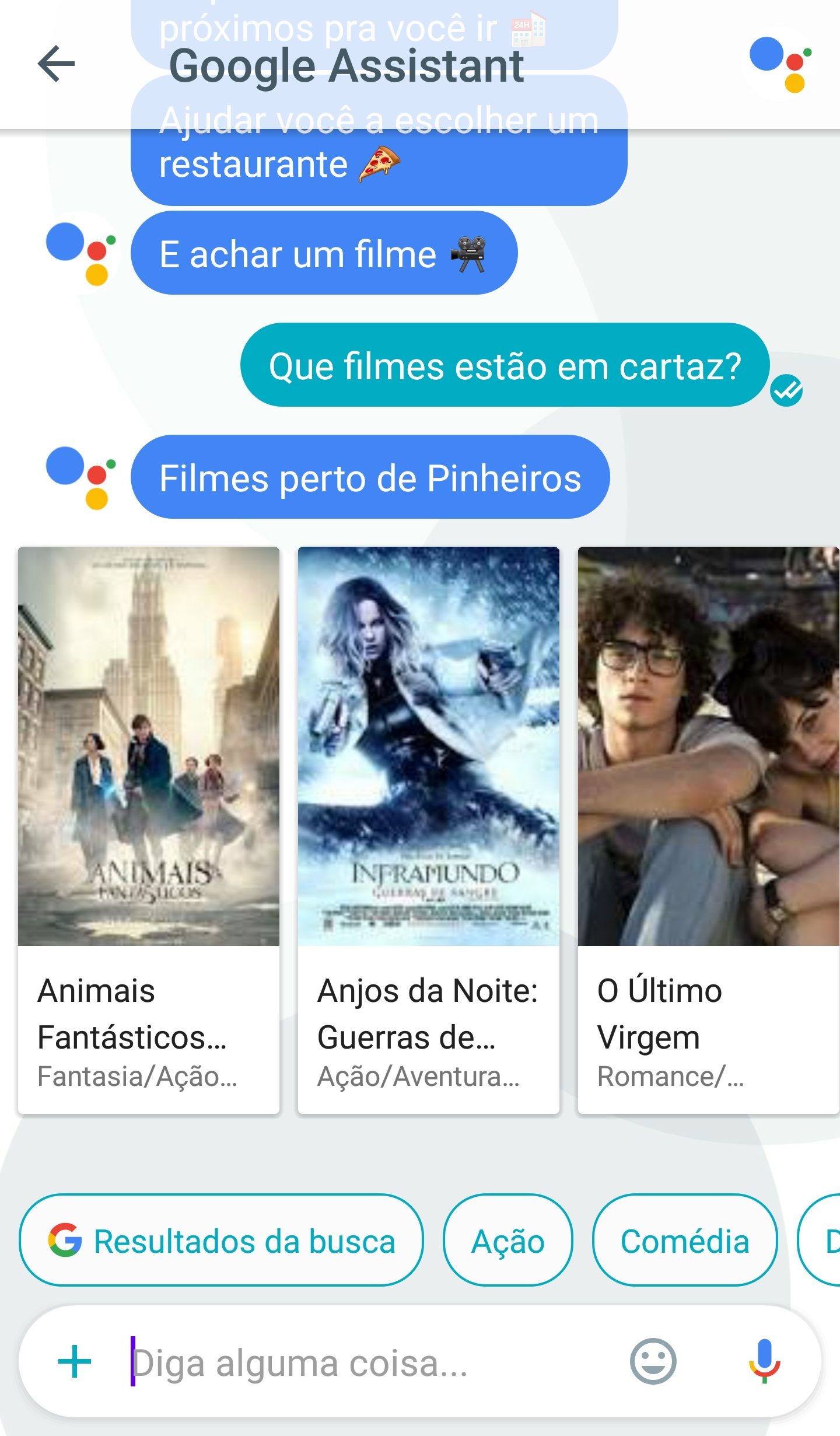 google assistant portugues 4