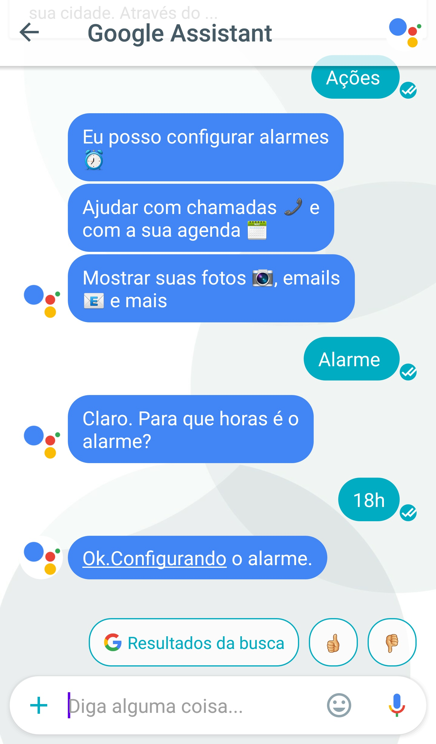 google assistant portugues 9