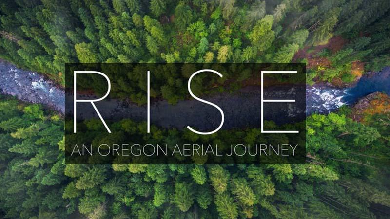 Este vídeo aéreo de Oregon nos EUA é incrível