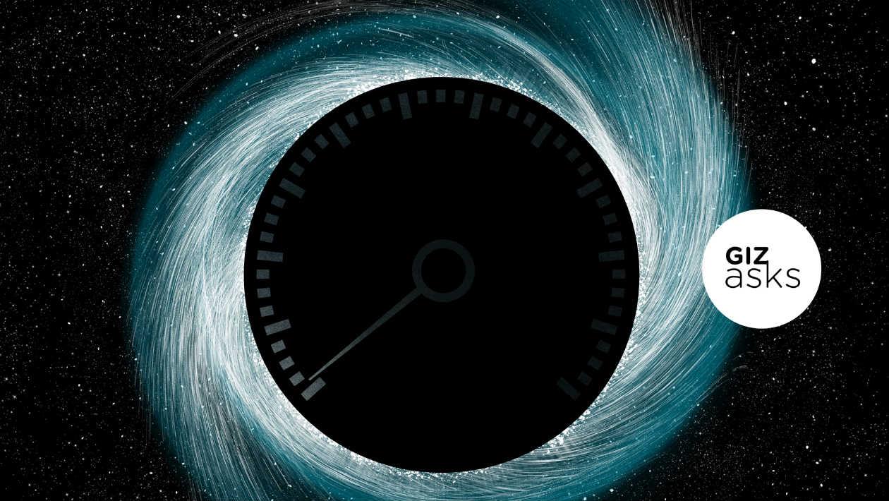 Qual é a velocidade da escuridão?
