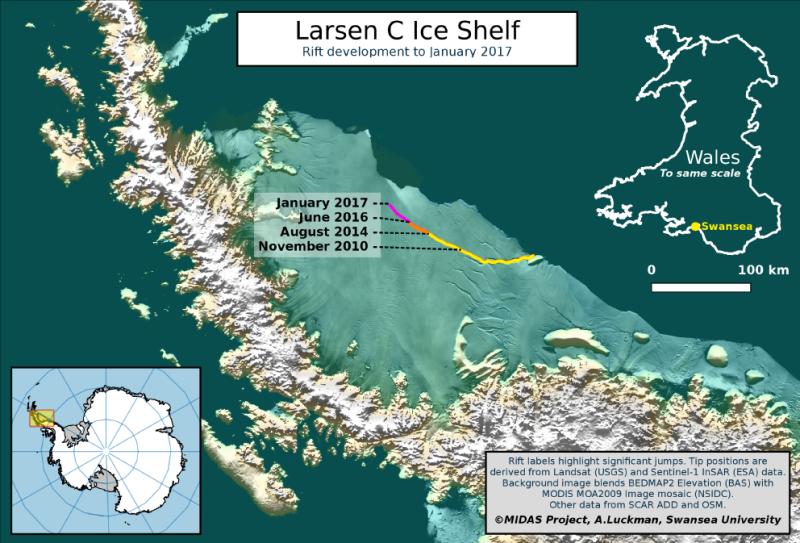 larsen-c-mapa